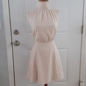 NWT Forever 21 Halter High Neck Skater Dress